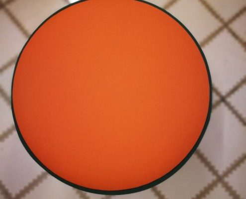 Lewis & Carroll punto naranja