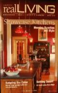Real Living Magazine Feature: Quapaw Quarter Kitchen