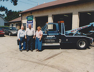 When it came time for Gordie to retire he sold the business to his son Glenn who renamed the shop Lewis Automotive.