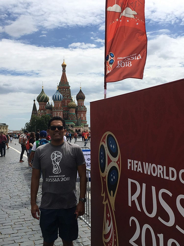 Omar Martinez - Construction Retail - Russia World Cup