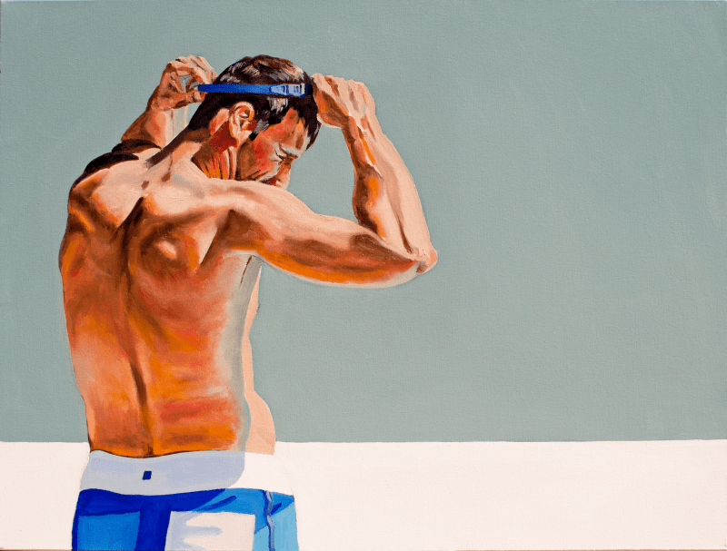 The swimmer - Lewis Evans