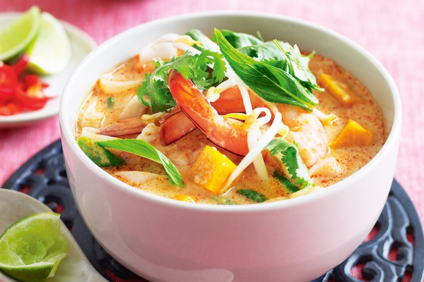 Bowl of Prawn Laksa