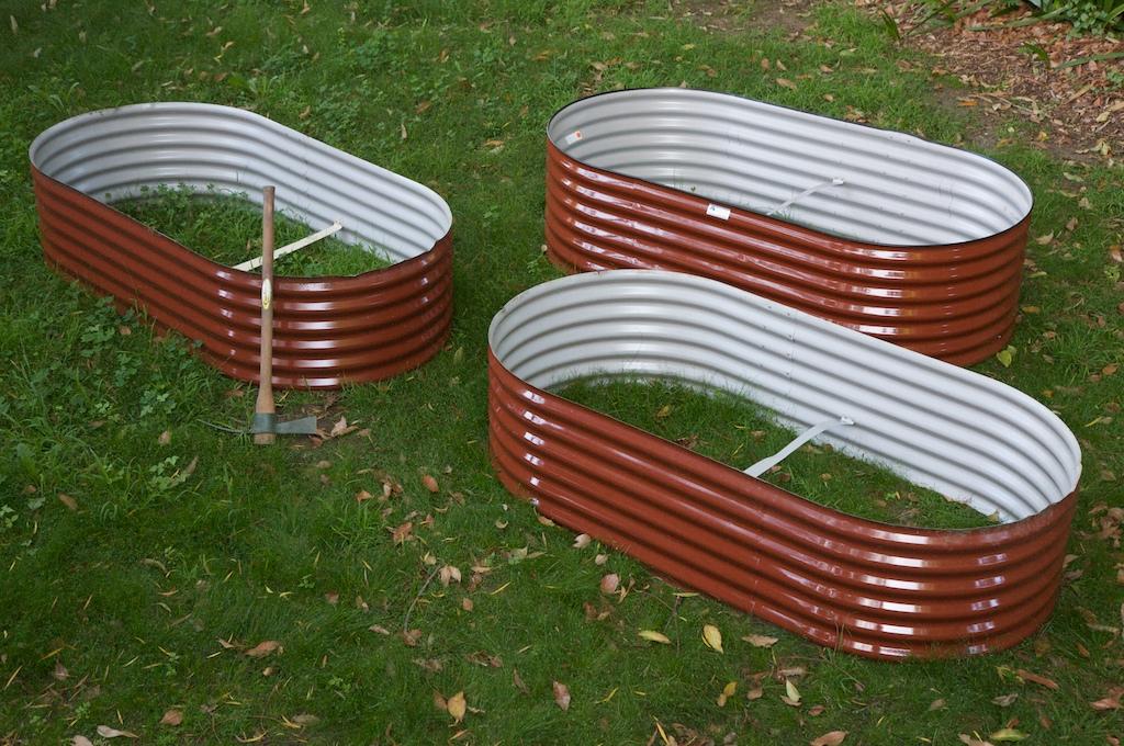 Three more garden beds