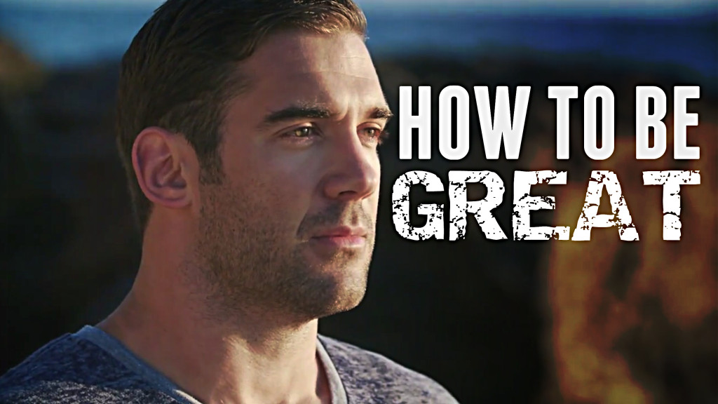how to be great Lewis Howes