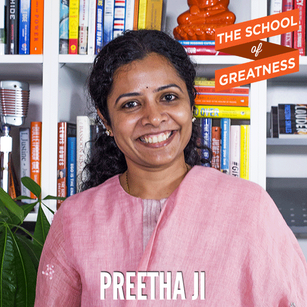 374---The-School-of-Greatness---PreethaJi