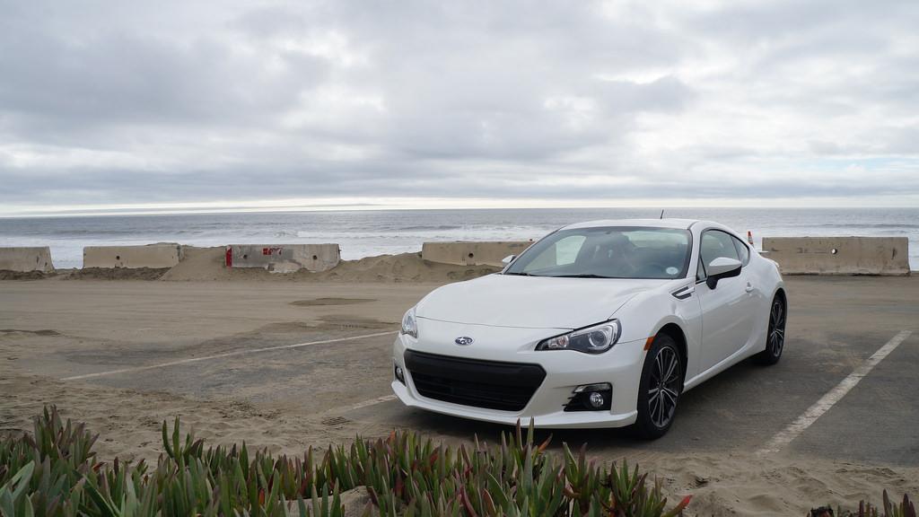 Subaru BRZ SF Ocean Beach