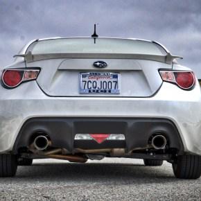 Subaru BRZ Nameless Axleback