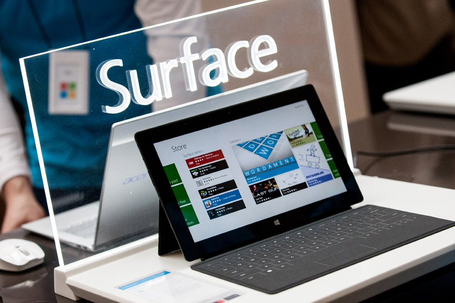 Surface Pro tablet
