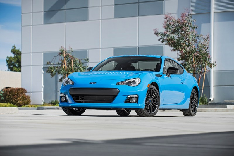 Subaru BRZ Series.HyberBlue