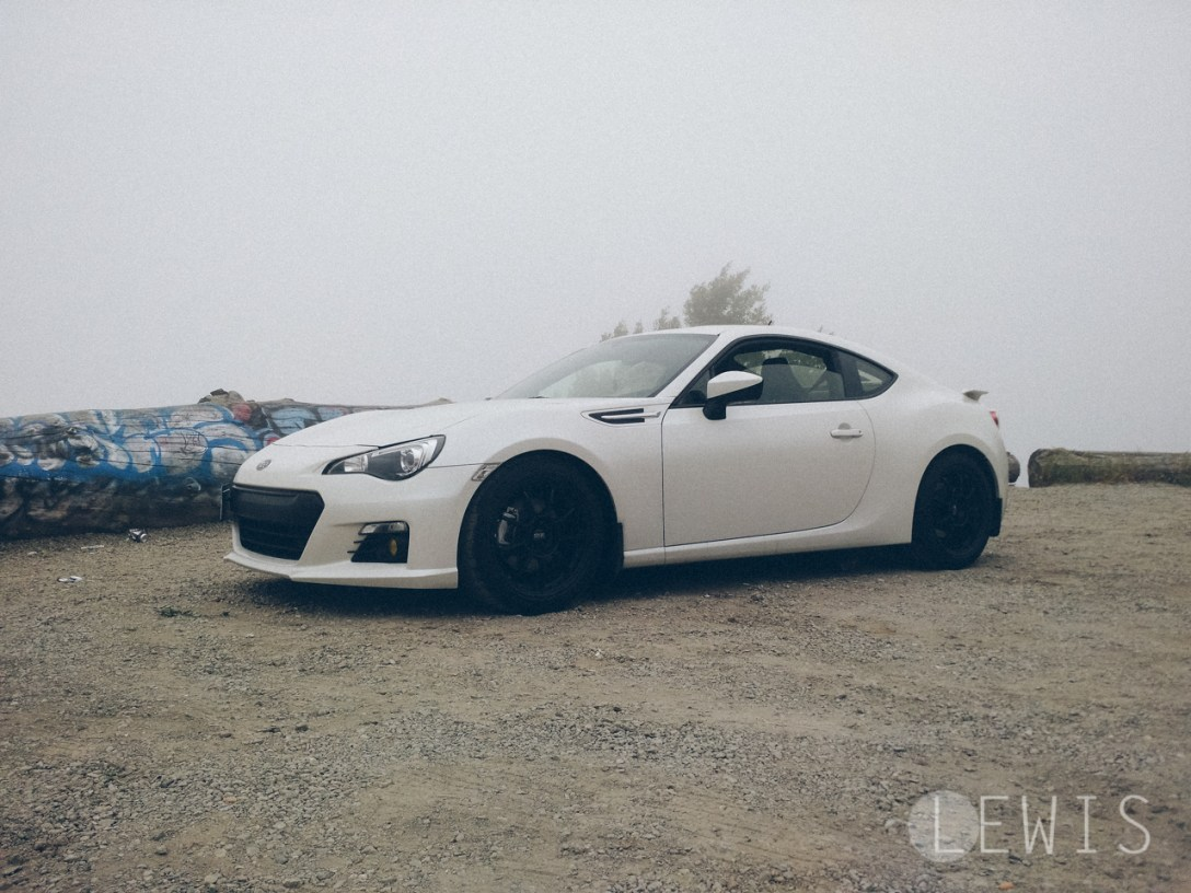 Foggy BRZ mountain