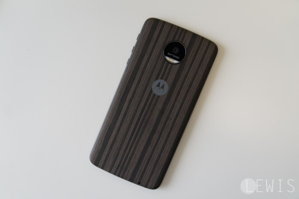 moto z wood style cover
