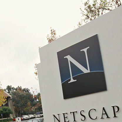 USA - Netscape Headquarters (Photo by James Leynse/Corbis via Getty Images)
