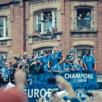 Chelsea's Champions League Victory Bus Parade
