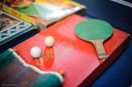 Vintage Ping Pong memorabilia