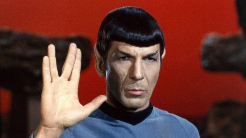 Leonard Nimoy as Spock Credit: Rex