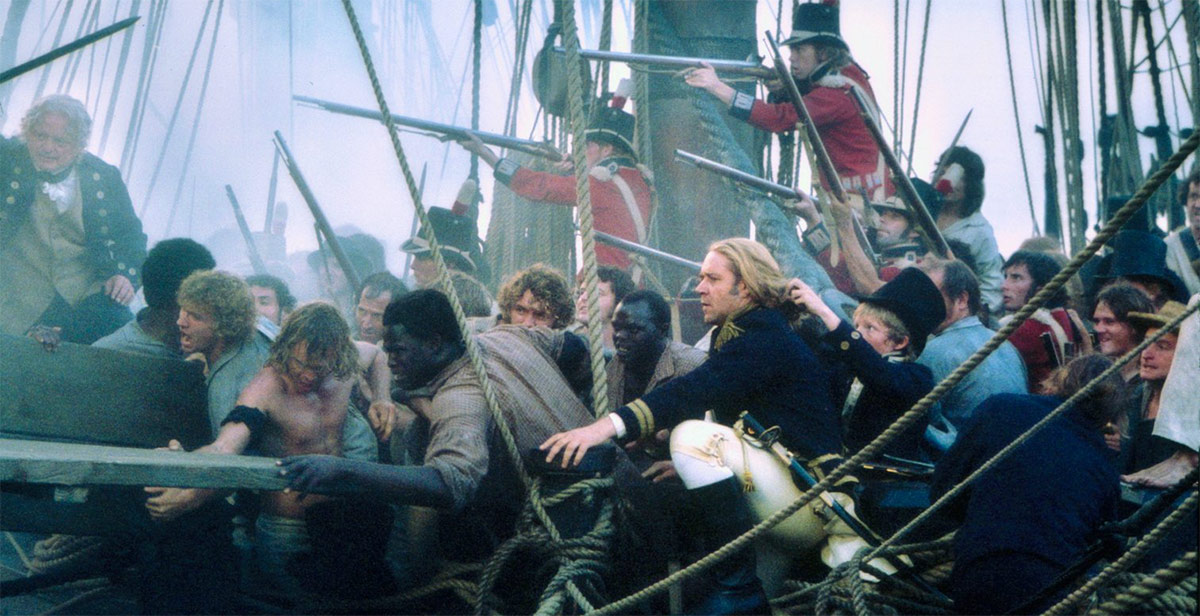 Fleet Week: MASTER AND COMMANDER: THE FAR SIDE OF THE WORLD