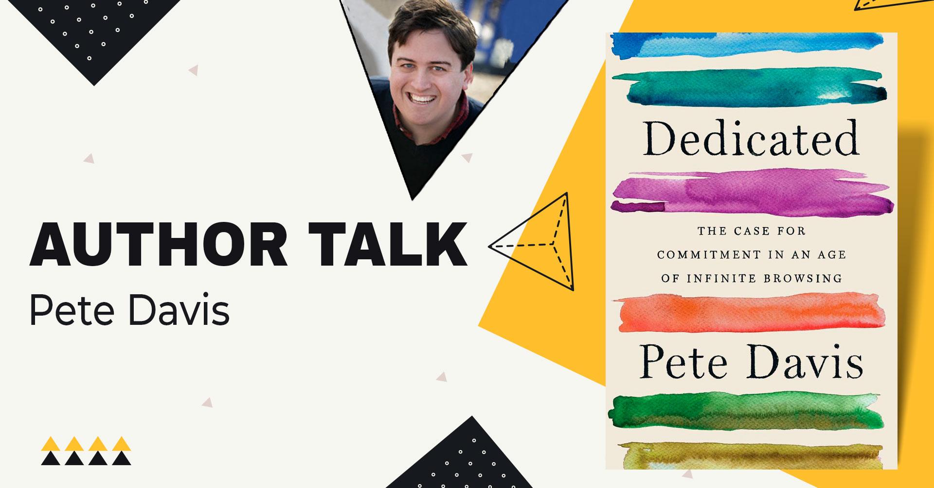 author talk pete davis
