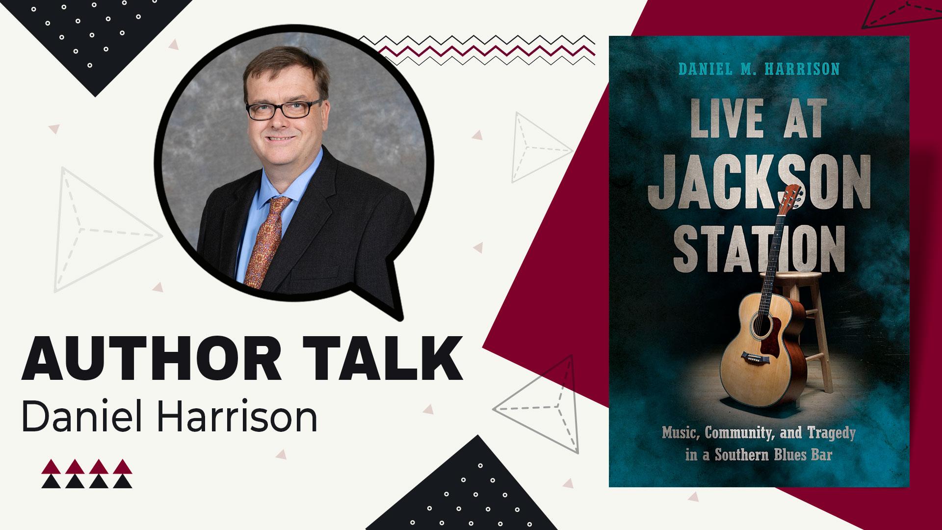 author talk Daniel Harrison