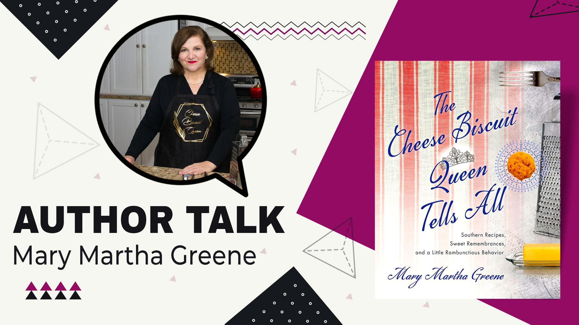 author talk Mary Martha Greene