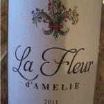 La Fleur D'Amelie 2012 Bordeaux Blanc France Bordeaux