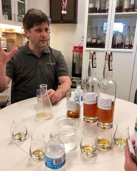 New Riff Distiller Cork and Barrel Bourbon Barrel Pick - Jay Erisman