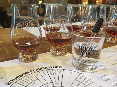 Cork and Barrel Lexington KY Boone County Bourbon Private Select process 2