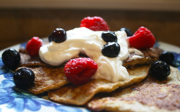 "Gluten-Free Protein ""Pancakes"" from LexEats.com"