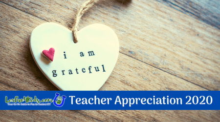 Celebrate Teacher Appreciation 2020 - LexFun4Kids