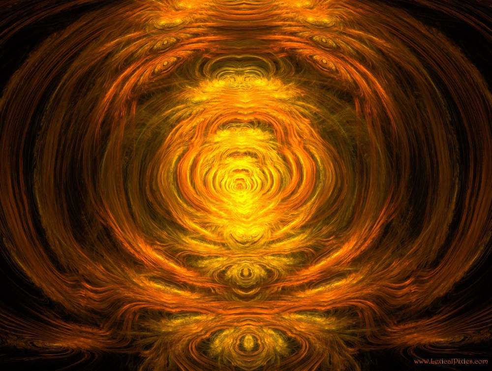 Daily Madness #41: The Path of Enlightenment :Fractal Art Wallpaper