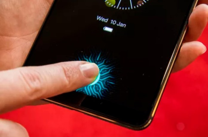 Vivo onscreen Fingerprint reader