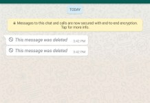 how to read deleted whatsapp messages on Android