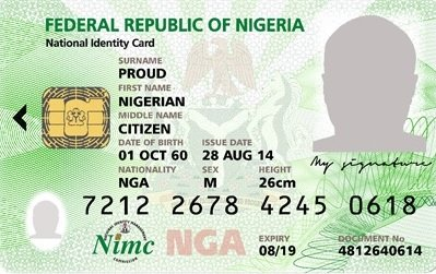 how to check your national identity card number using USSD code