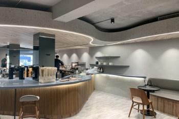 小巨蛋咖啡廳 THE NORMAL 敦北二號店,極致質感的安靜咖啡廳,辦公喝咖啡好去處