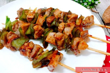 食譜【照燒豬肉串】、【無油鹹酥雞】使用非基因改造淬釀醬油露