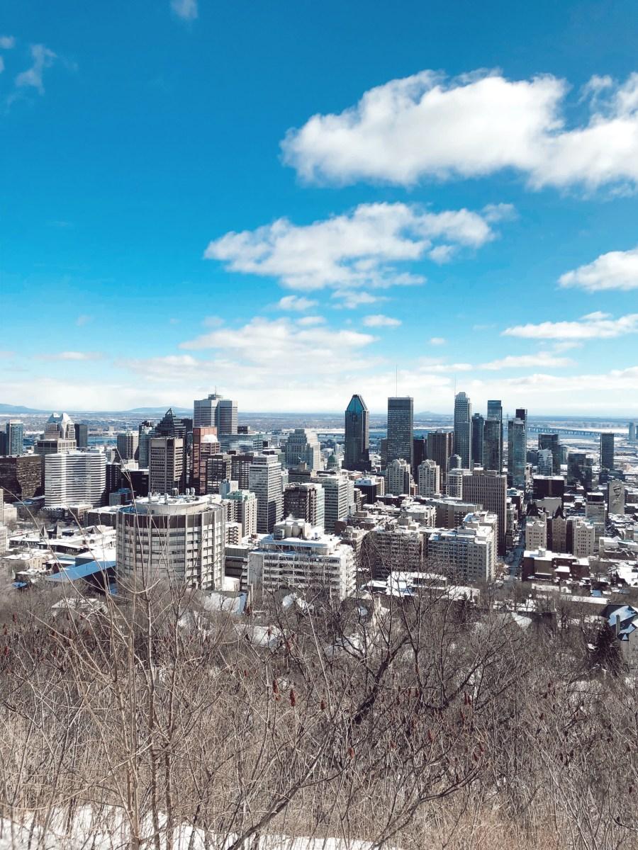 Montréal skyline!