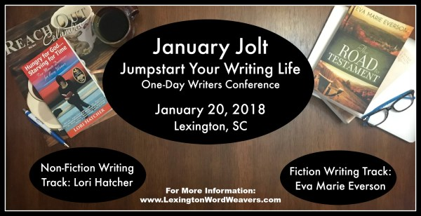 Lexington Word Weavers 2018 January Jolt One-Day Writers Conference