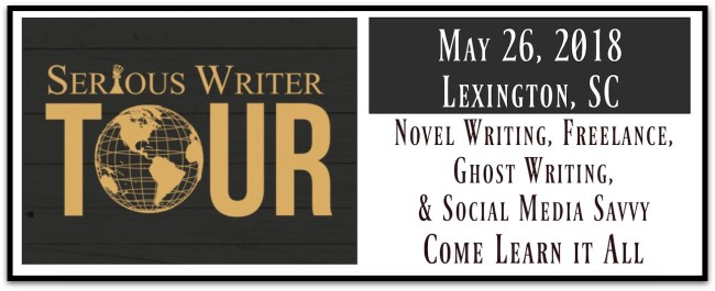 Serious Writer Tour Stop Lexington Banner
