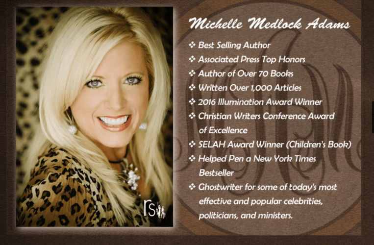 Meet Michelle Medlock Adams