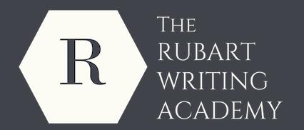 The Rubart Writing Academy