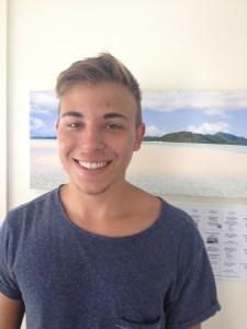 michael happy student