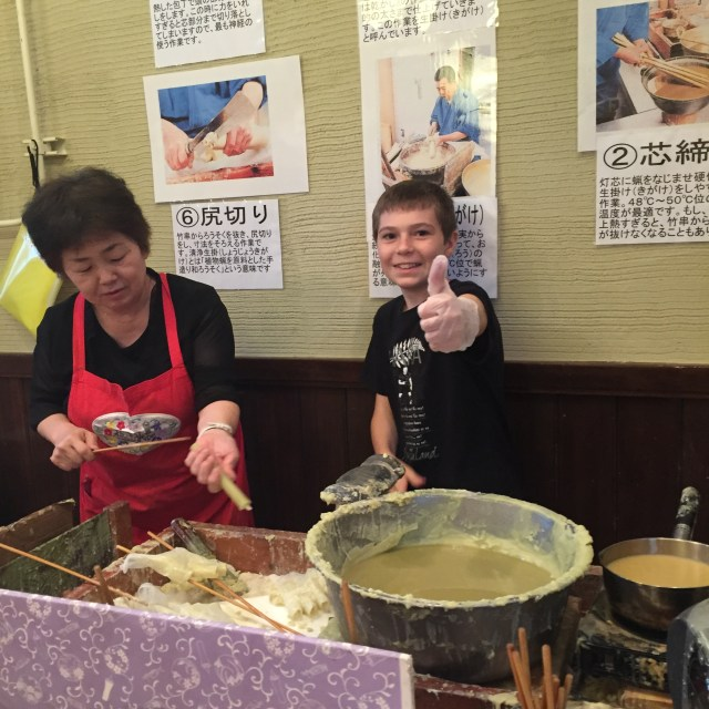 Lexis Japan - TAP Candle Making 6