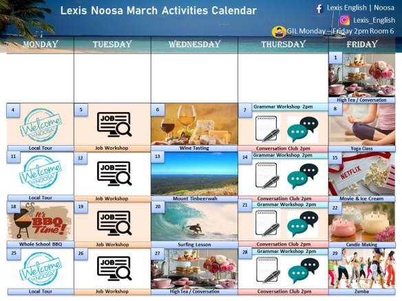 March Calendar