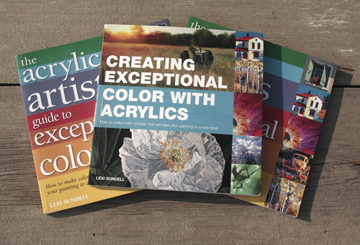 "American and British Copies of ""Creating Exceptional Color in Acrylics"""