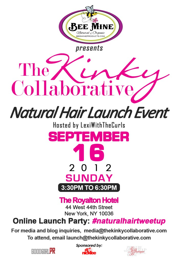 UPDATE: Join Me 9/16 The Kinky Collab Launch (NY)