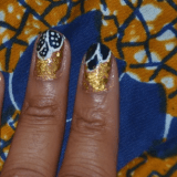 Monday Mani Muse- Ankara Print Nails