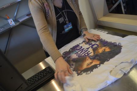 My Prince tour t-shirt they took!