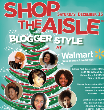 Shop The Aisle- Holiday Edition  – Taking Over ATL 12/15