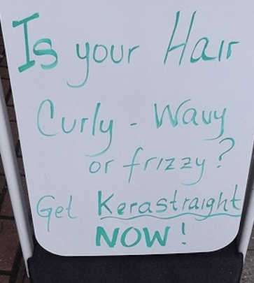 The Woes Of Having Curly Hair via Buzzfeed