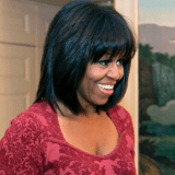 Michelle Obama's New Bangs