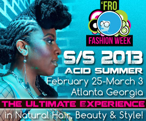 Fro Fashion Week Spring/Summer 2013 Coming Up